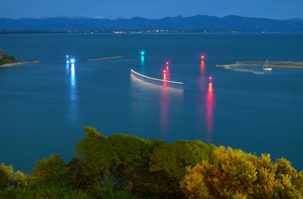 9. Late sailing through the Cut, Nelson