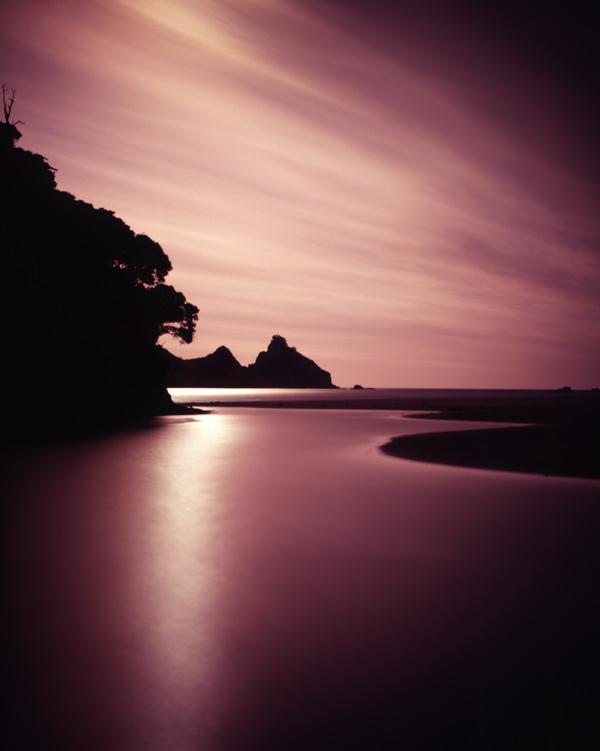 2. Harataonga moonrise