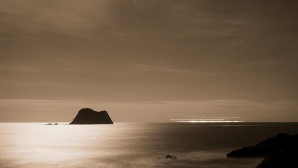 15. Leaving Port Taranaki at midnight