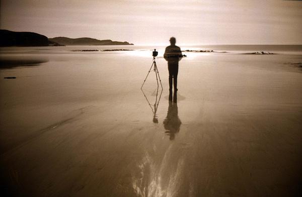 11. Self-portrait by moonlight, Jack's Bay, Otago