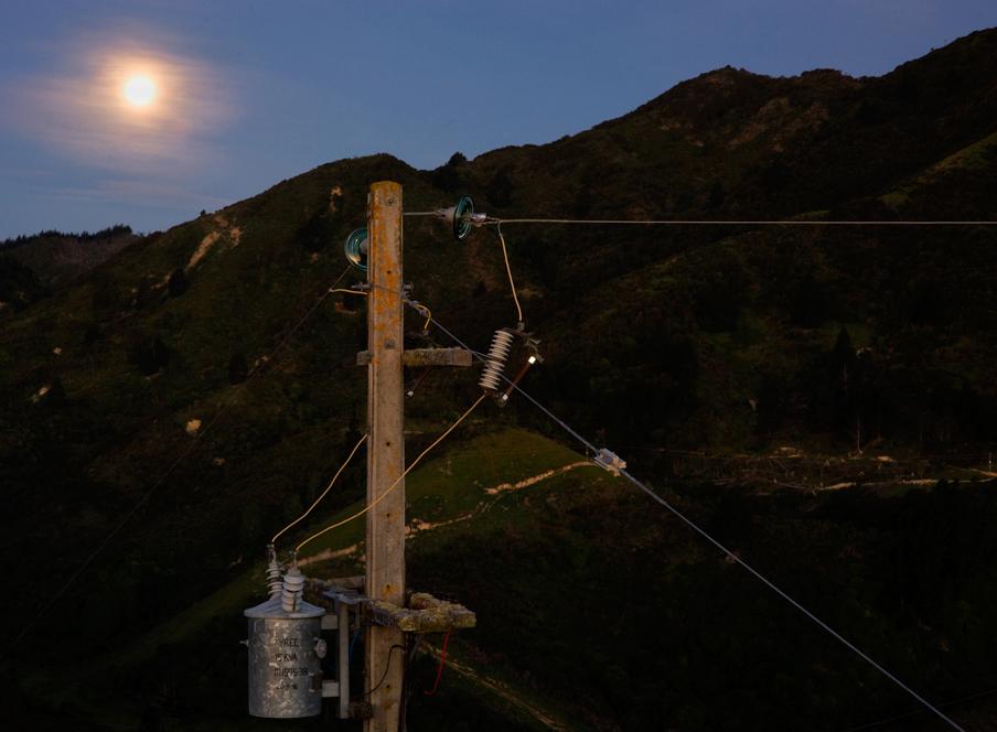 Maitai moonrise, Nelson