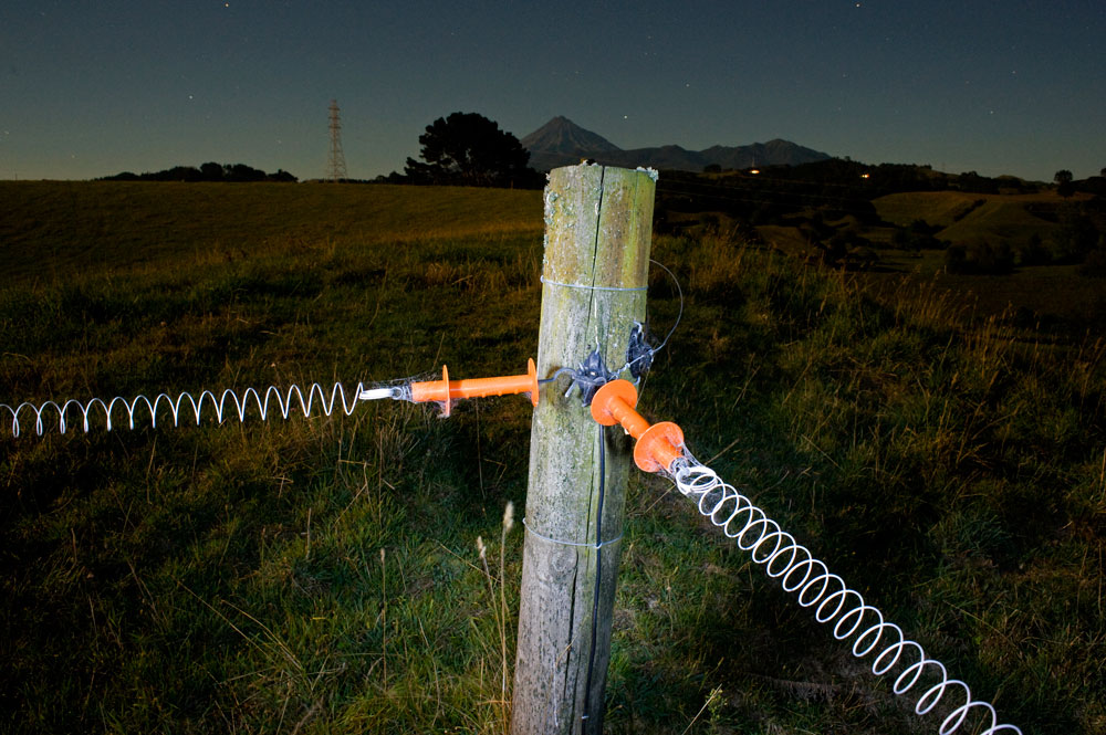 Taranaki electric night