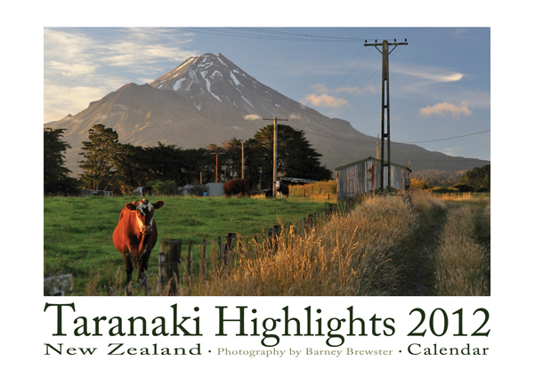Taranaki Highlights 2012 Calendar