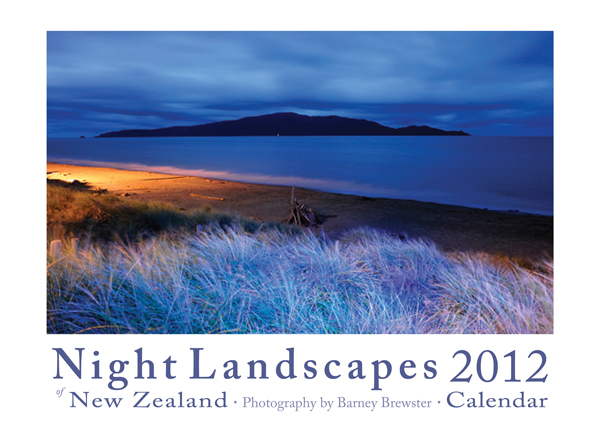 Night Landscapes 2012 Calendar