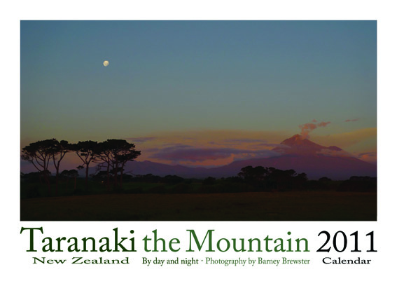 Taranaki the Mountain 2011 Calendar