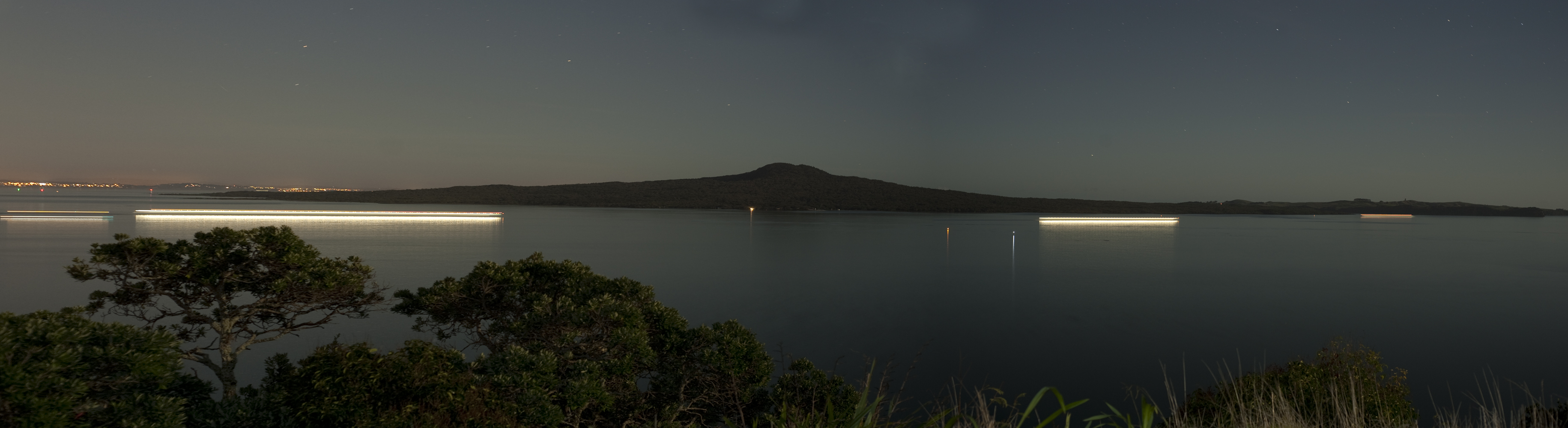Rangitoto from Achilles Pt