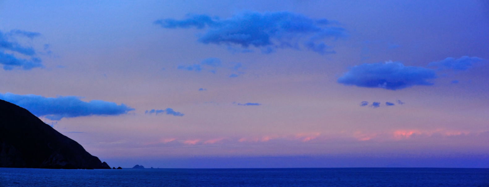 5090. Cook Strait Twilight Pano