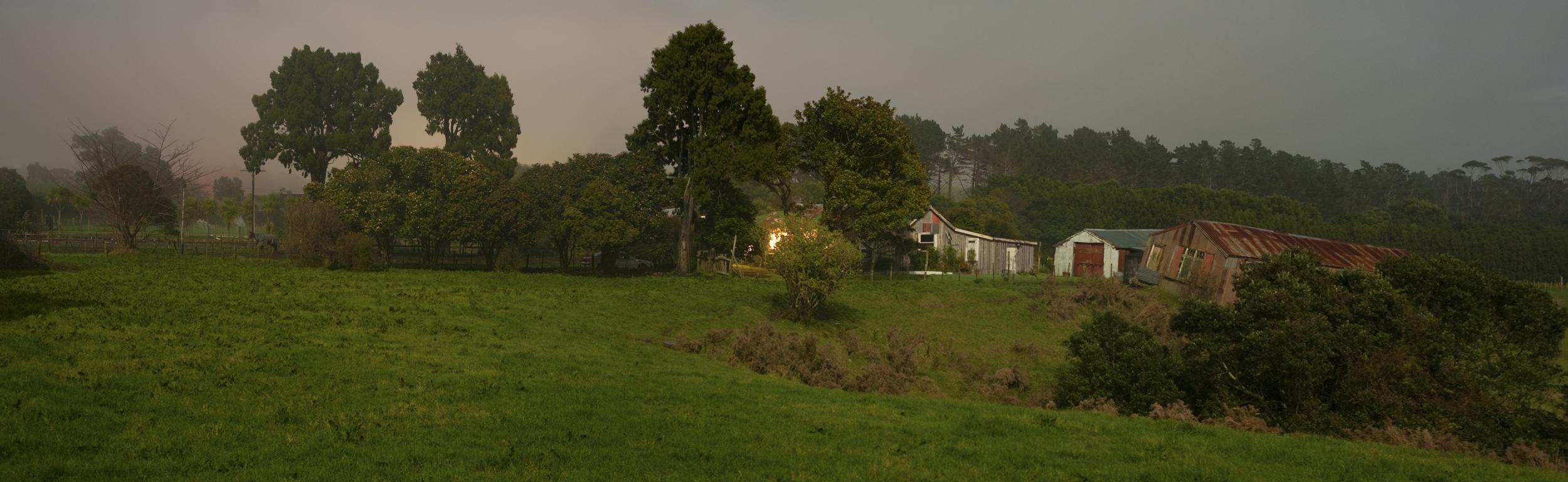 Omata panorama, Taranaki