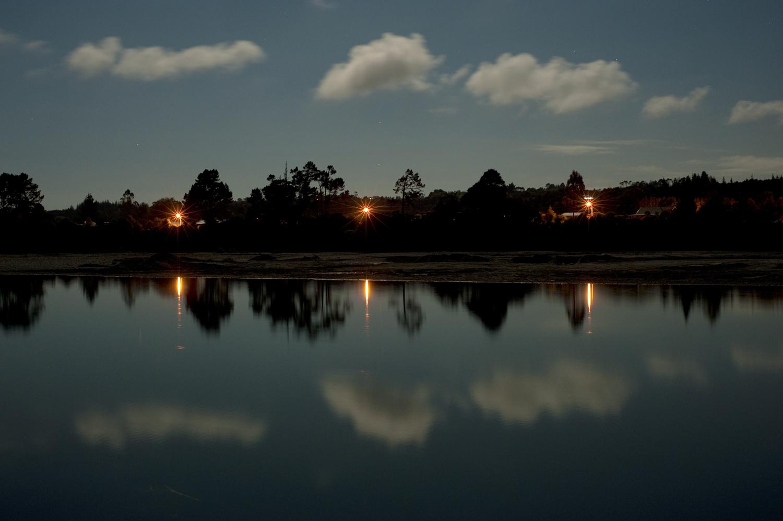 Clouds over the Hokitika River