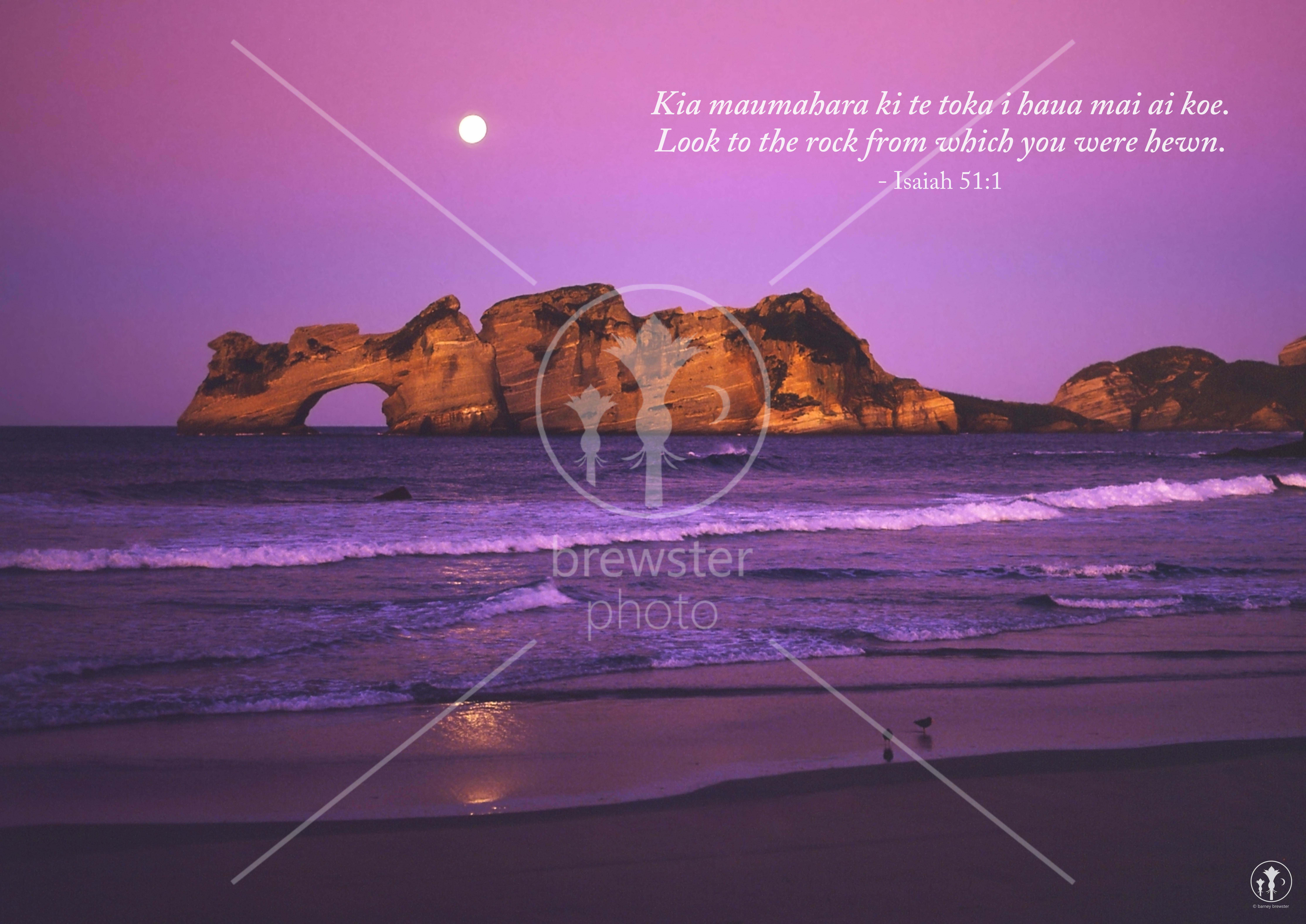 New Zealand by Night - A4 Printable Posters with Quotes (Pack of 9) by Barney Brewster