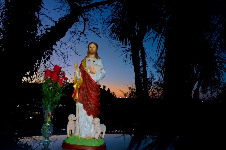 St Joseph's twilight muster: horizontal